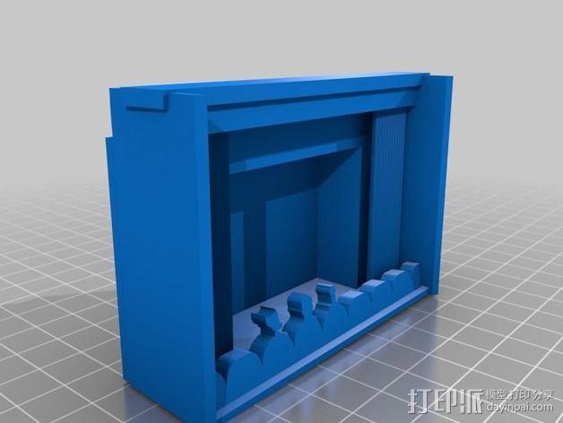 苹果手机座 3D模型  图2