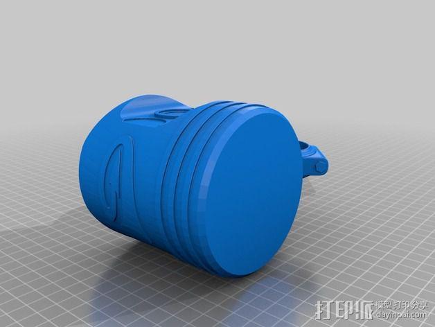 活塞 3D模型  图2