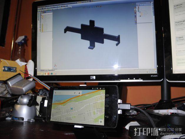 Nexus 5手机座 3D模型  图2