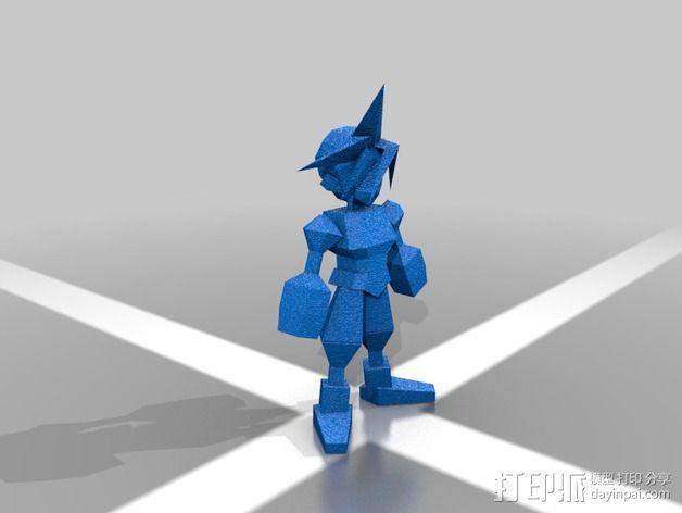 最终幻想7摆件 3D模型  图1
