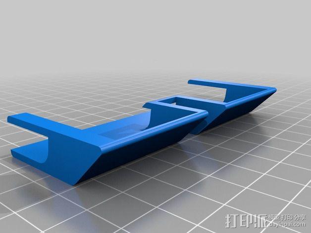 iPad Air导流板 3D模型  图2