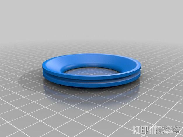 佳能适配器 3D模型  图3