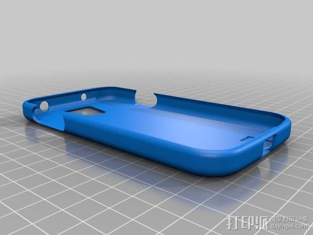 S4手机壳 3D模型  图2