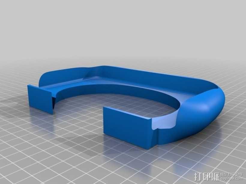 3DS XL游戏机座 3D模型  图1