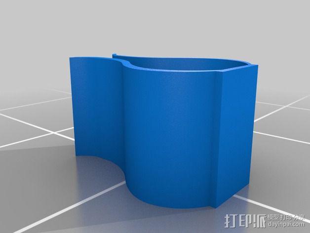3DS XL游戏机座 3D模型  图2