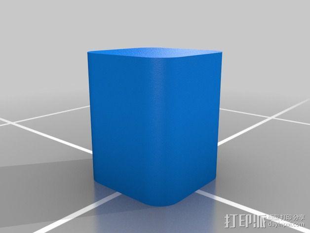 3DS XL游戏机座 3D模型  图3