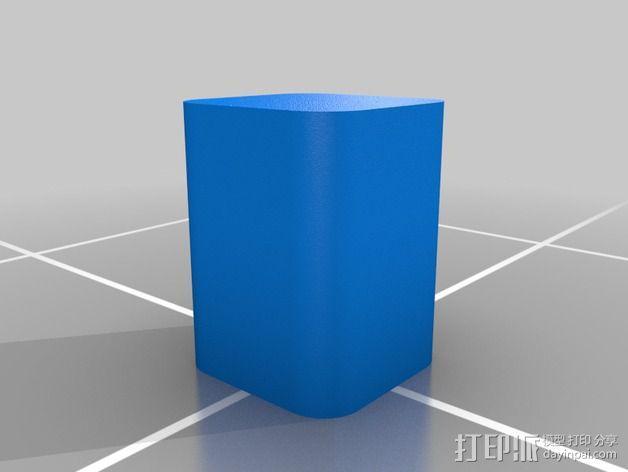 3DS XL游戏机座 3D模型  图4