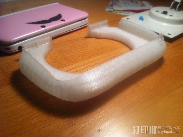 3DS XL游戏机座 3D模型  图5