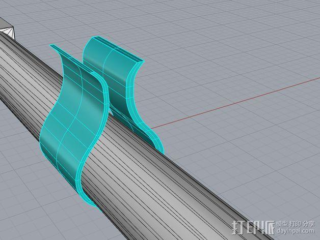 3DS XL游戏机座 3D模型  图10