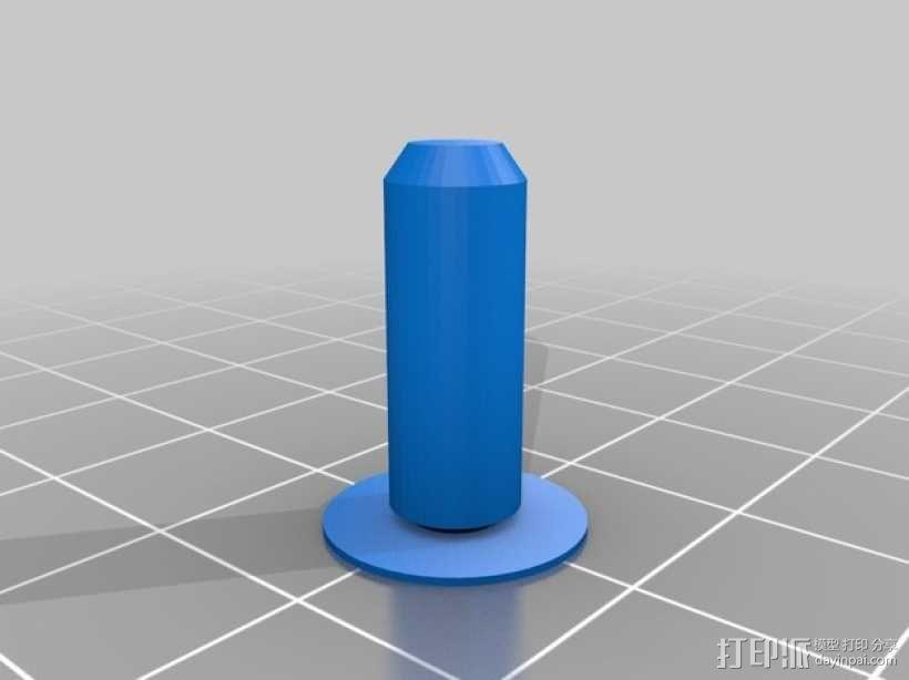 安装板 3D模型  图2