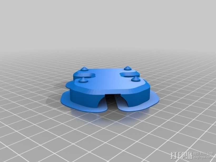 安装板 3D模型  图3