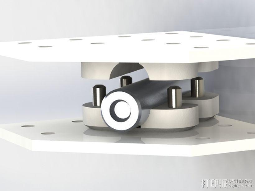 安装板 3D模型  图4