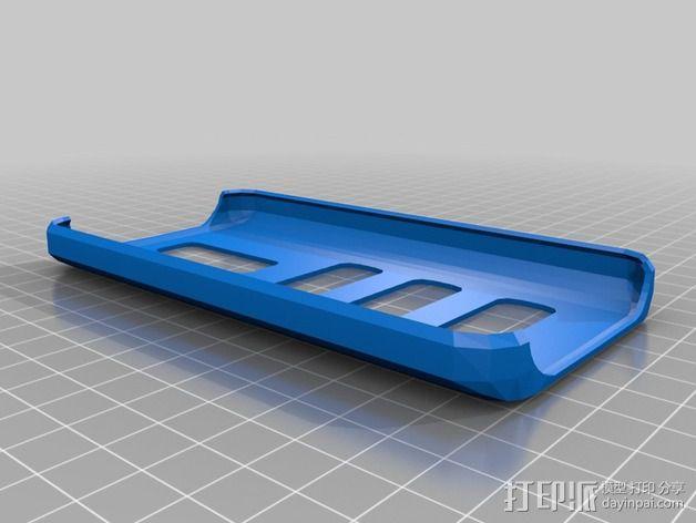 LG G2 D802 手机壳 3D模型  图1
