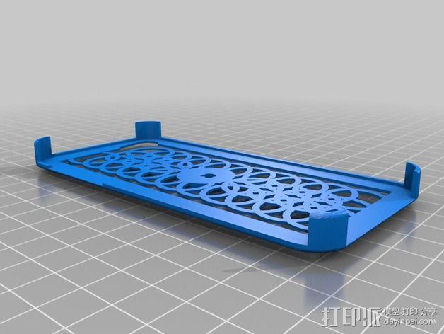 iPhone 5/5s手机壳 3D模型  图3