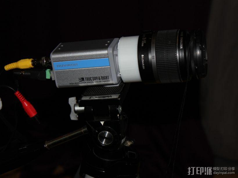 Canon EF镜头 3D模型  图1