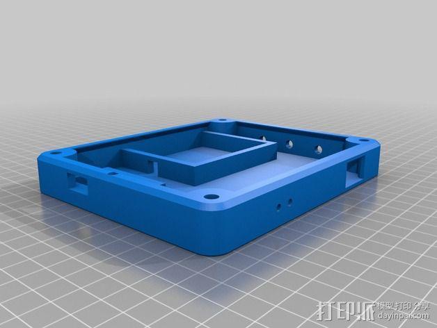 太阳能充电板 3D模型  图2