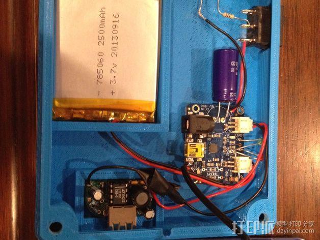 太阳能充电板 3D模型  图7