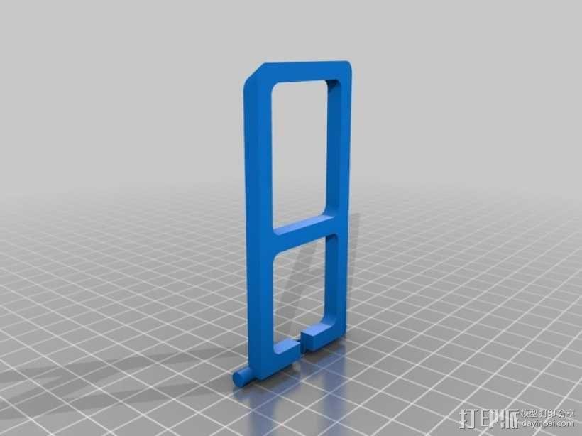 手机座 3D模型  图2