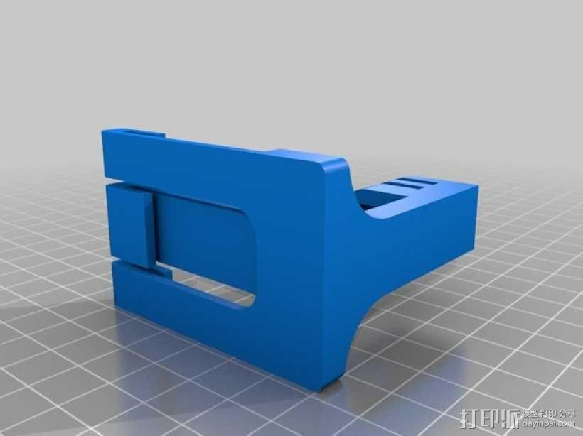 GOPRO支架 3D模型  图2