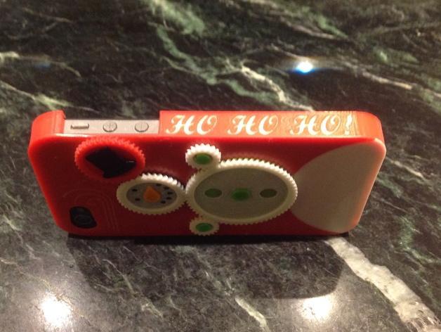 iPhone4S圣诞雪人手机壳 3D模型  图3
