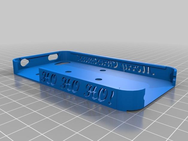 iPhone4S圣诞雪人手机壳 3D模型  图6
