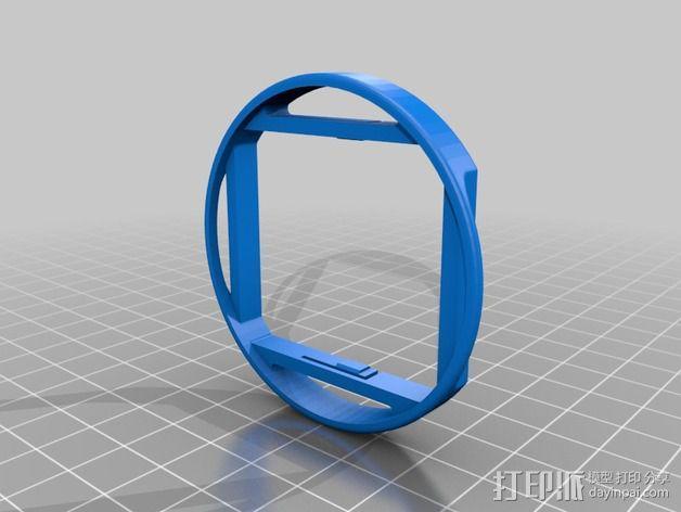 GoPro 3支架 3D模型  图1