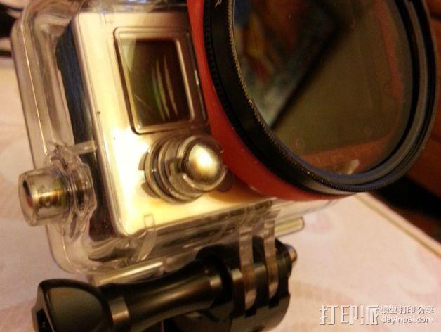 GoPro 3支架 3D模型  图4