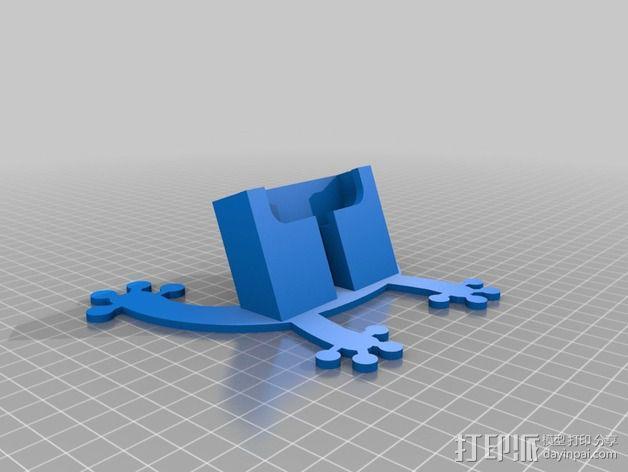 Motorola手机座 3D模型  图2
