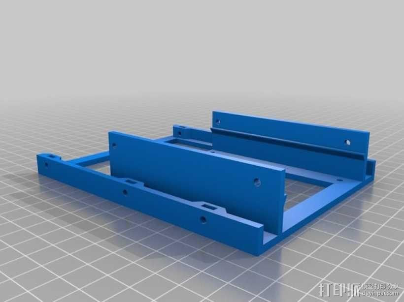 电池保护壳 3D模型  图2