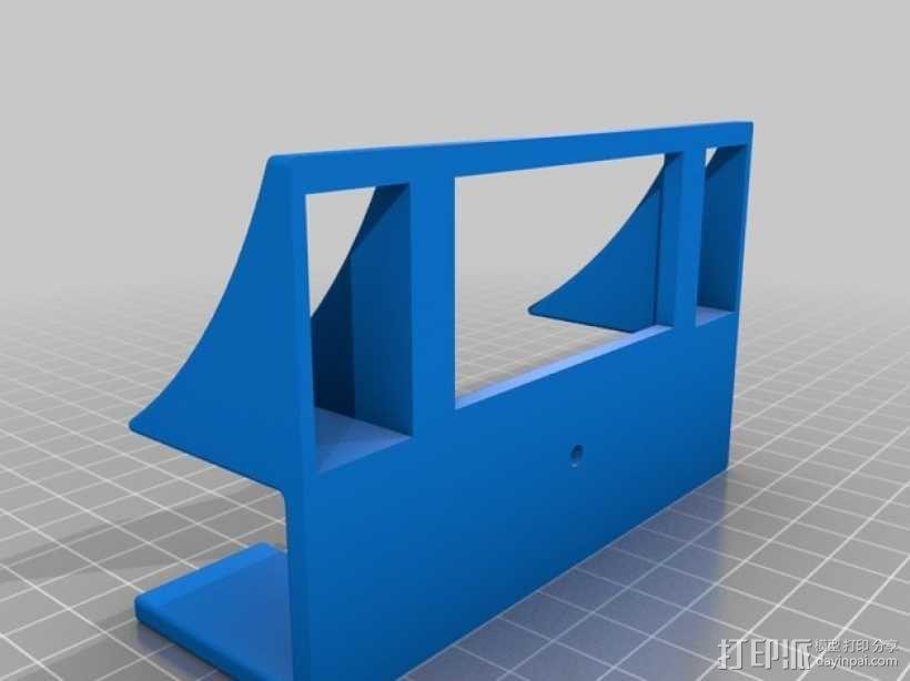 Kinect 2 电视适配器 3D模型  图3