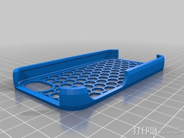 七边形手机座 3D模型  图1