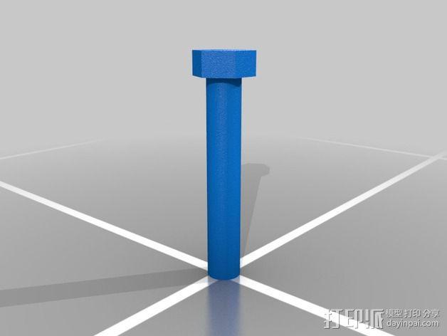 蝴蝶螺丝 3D模型  图5