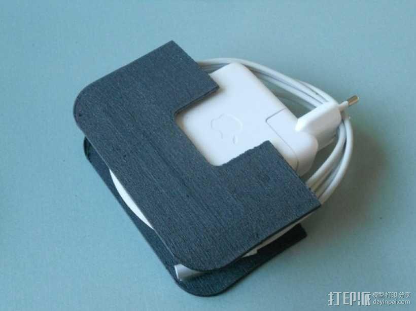 充电器保护壳 3D模型  图1