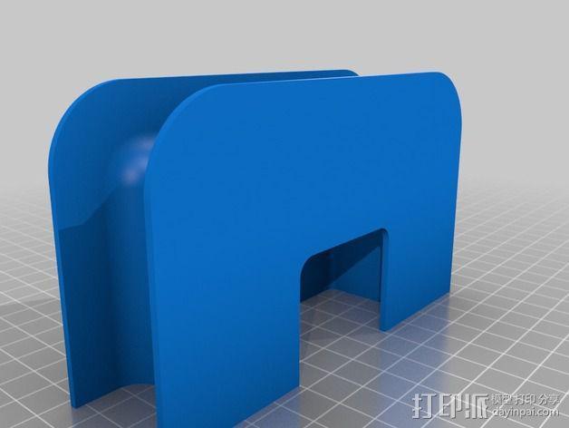 充电器保护壳 3D模型  图3