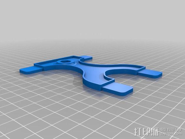Nexus 7 手机座 3D模型  图2