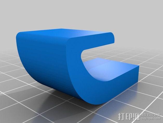 Nexus 7 手机座 3D模型  图4