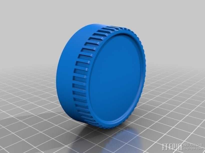 尼康相机镜头盖 3D模型  图1
