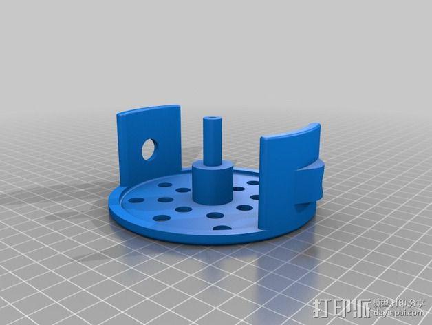 电缆线处理器 3D模型  图2