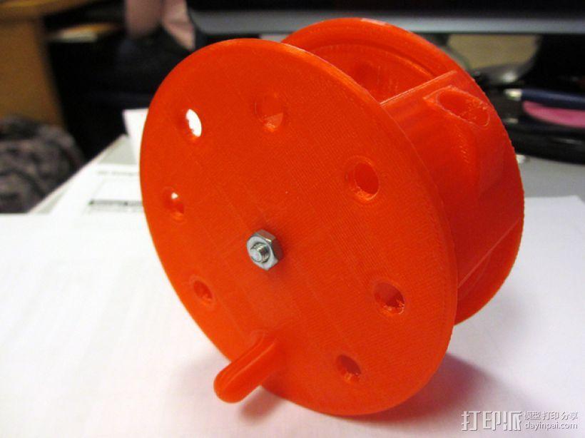 电缆线处理器 3D模型  图1