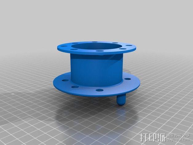 电缆线处理器 3D模型  图3