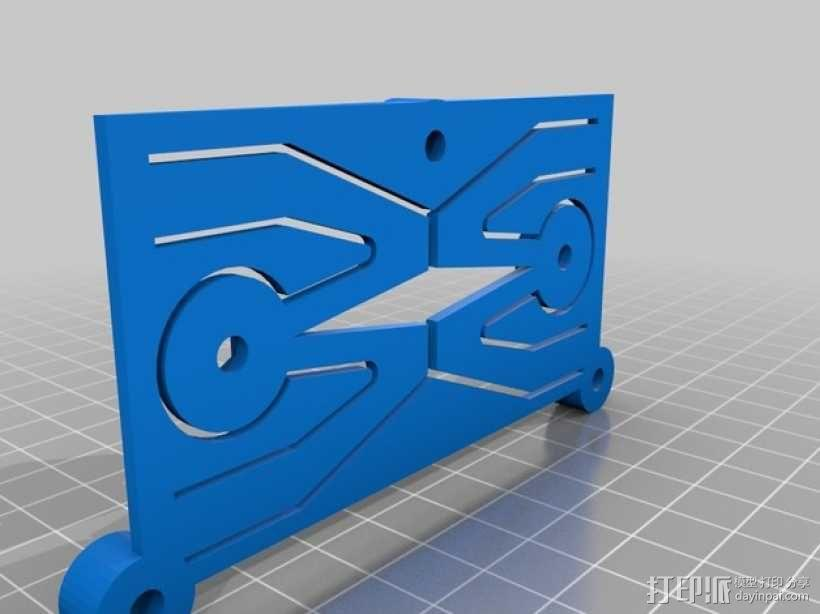 GoPro HERO3相机适配器 3D模型  图4