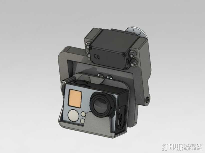 GoPro HERO3相机适配器 3D模型  图9