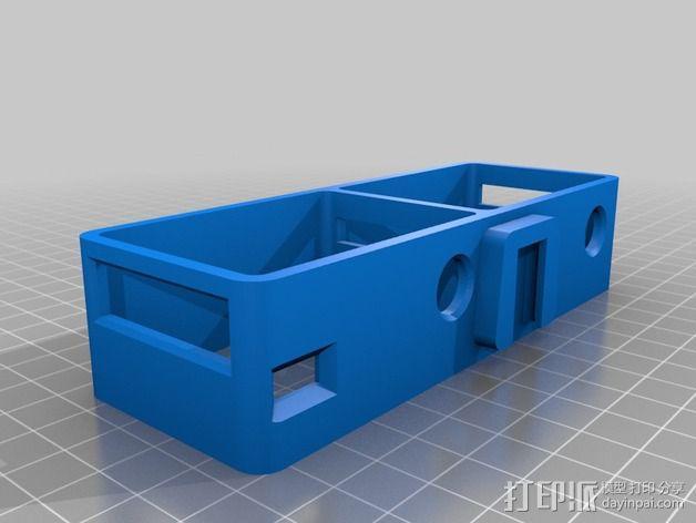 GoPro Hero 2 3D框架 3D模型  图1