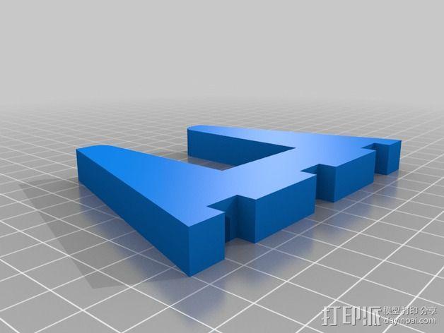 笔记本支架 3D模型  图2