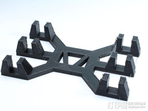 笔记本支架 3D模型  图7