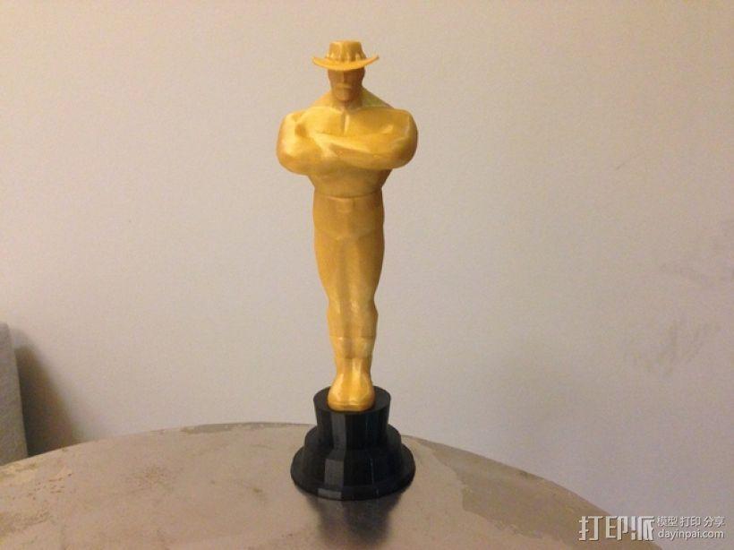 Team Fortress 2奖杯 3D模型  图1