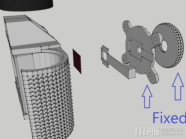 pinhole135迷你相机 3D模型  图10