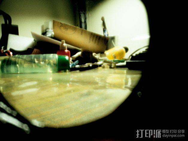 pinhole135迷你相机 3D模型  图20