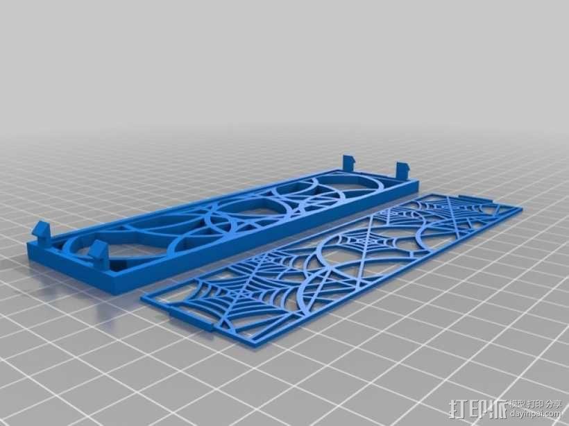 计算机主机挡板 3D模型  图1