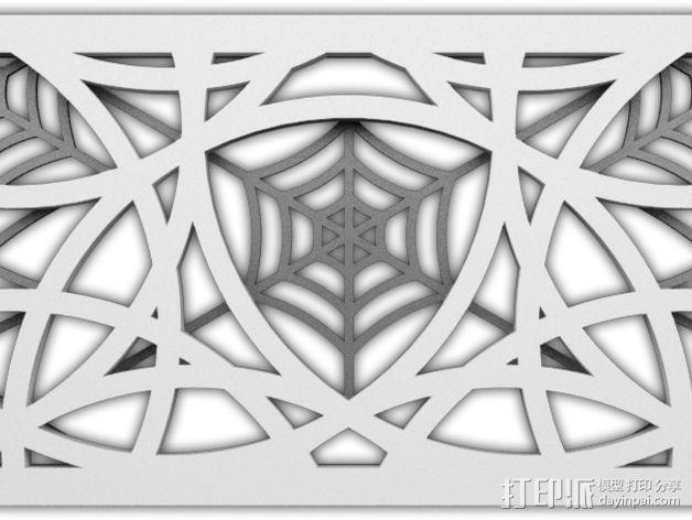 计算机主机挡板 3D模型  图2